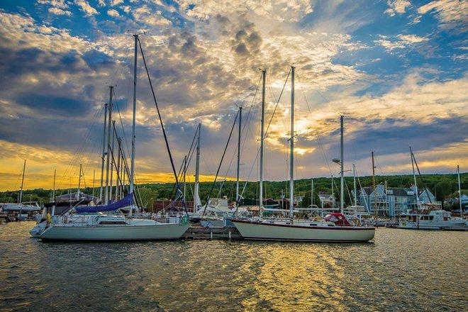 award winning photography harbour sunset peggy carter