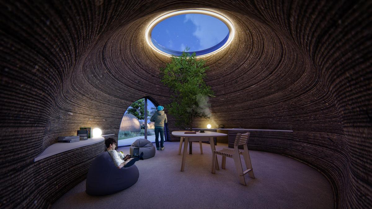 3d printed house by wasp
