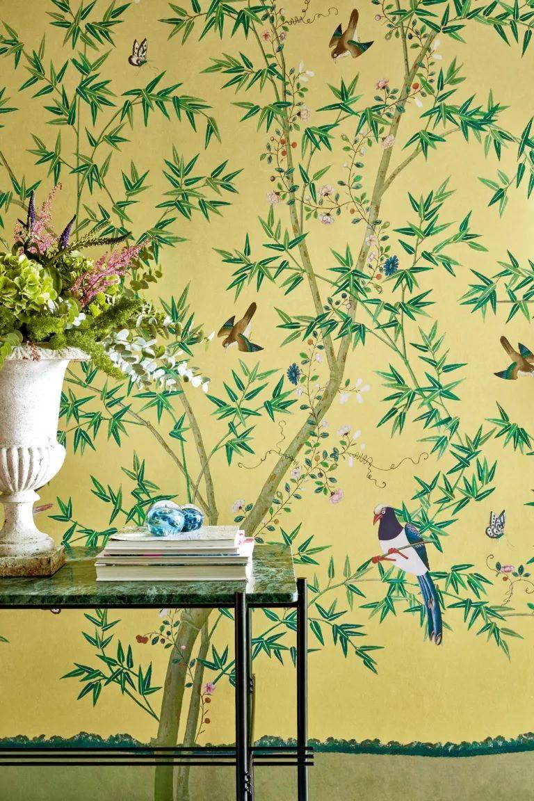 wallpaper design botanical