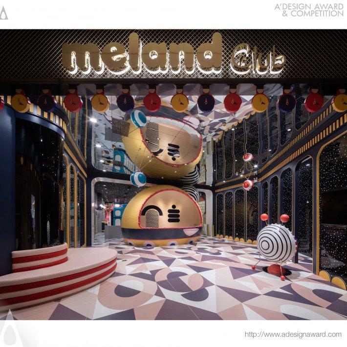 award winning interior design meland club