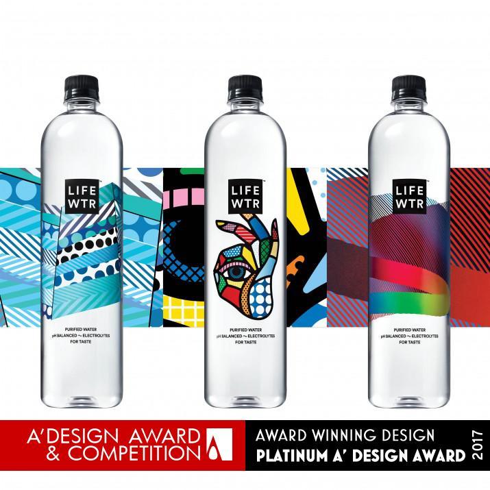 award winning packaging design water bottle