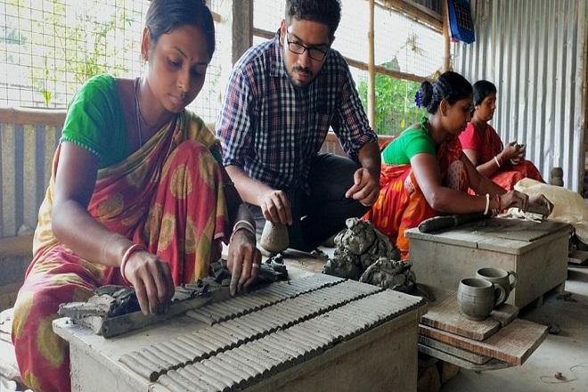 terracotta workshop staff