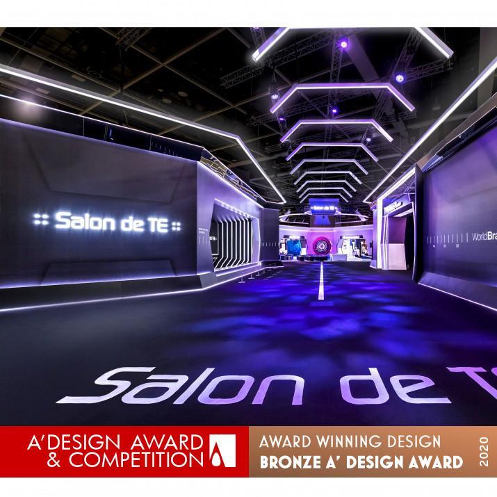 award winning interior design salon de te
