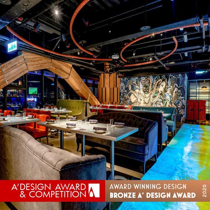 award winning interior design restaurant