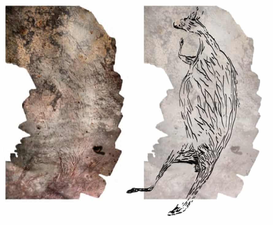 oldest rock painting kimberley australia