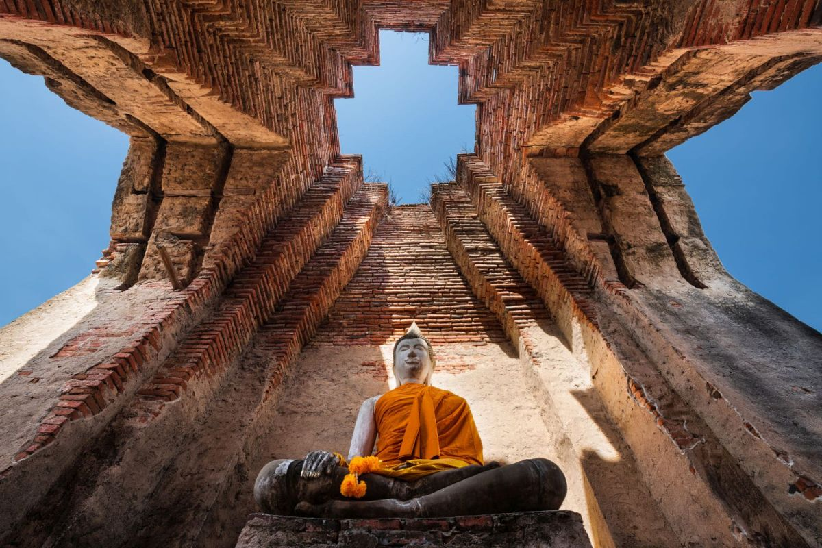 worms eye view photography by photos thailand