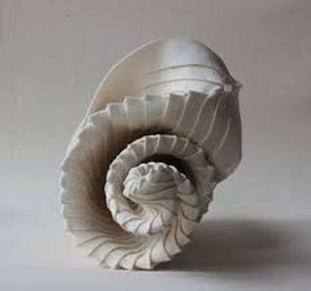 spiral sculpture by mercedes vincente