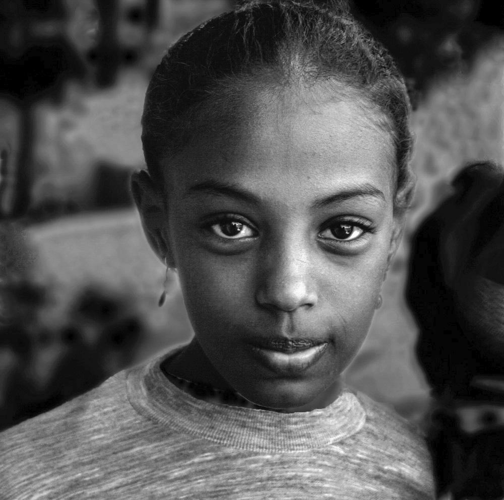 award winning black white portrait photography by michael