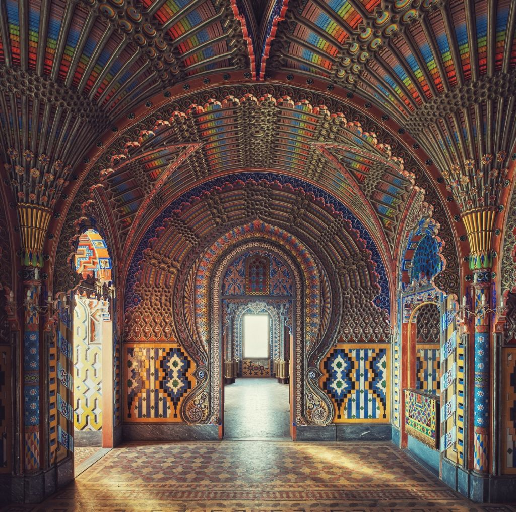 moorish architecture snapped by gina soden