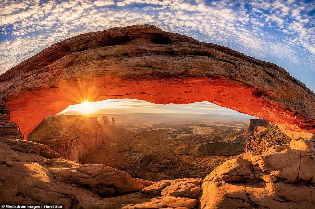 stunning sunrise photography by yimei sun