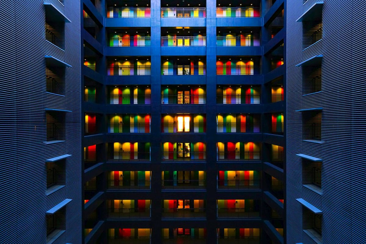 best colourful building photography by kurickberry