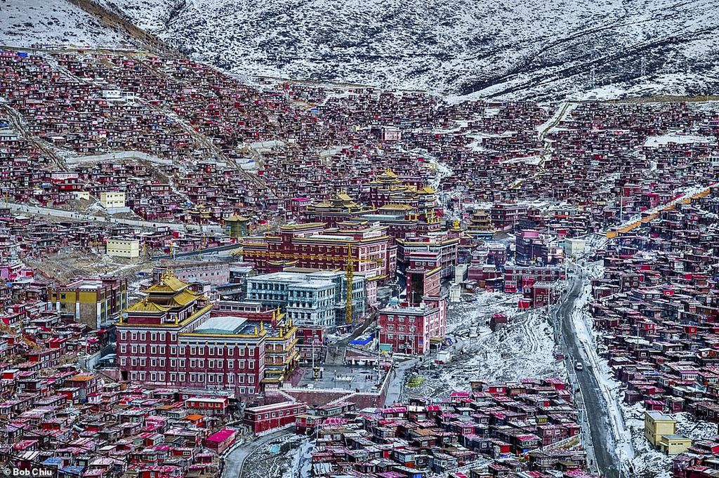 fascinating image land buddha photograph by bob chiu