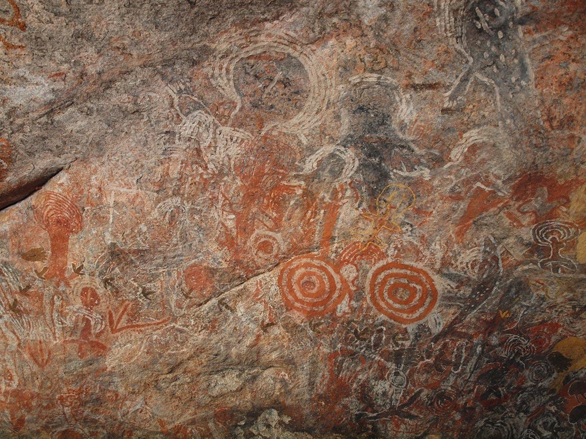 earliest rock art australia