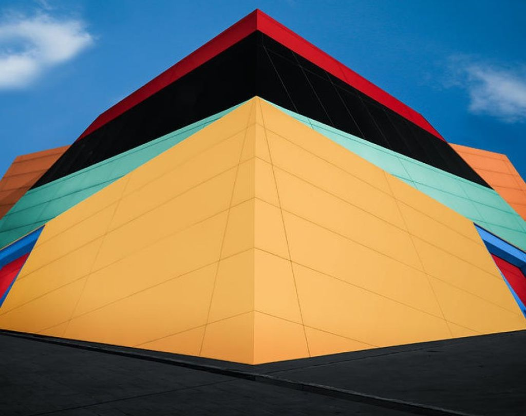 shortlisted colourful building abstract photography by mohammed almasri