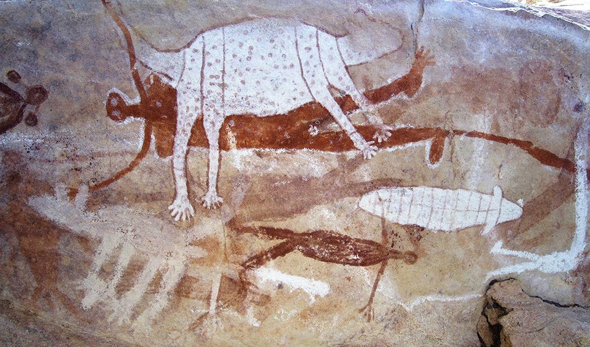 rock art queensland australia
