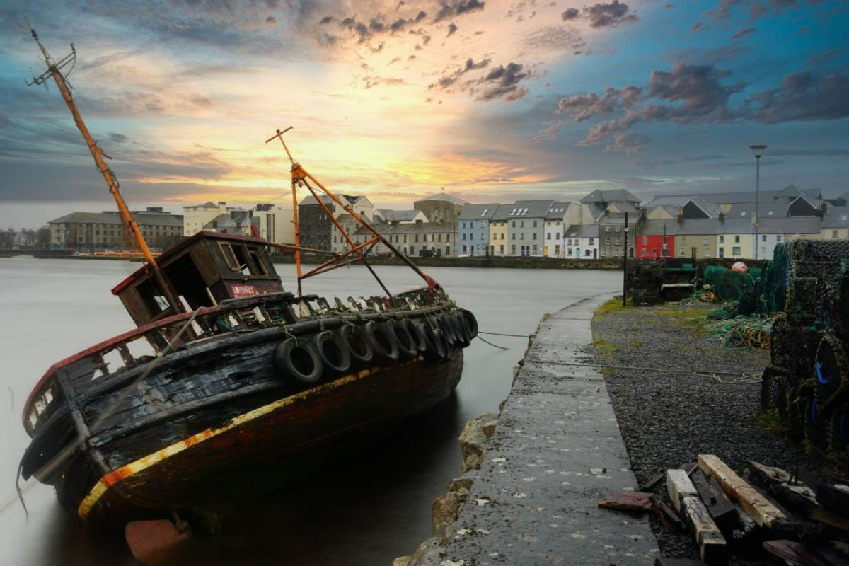 readers photography competition sunken boat galway by eoin fealy
