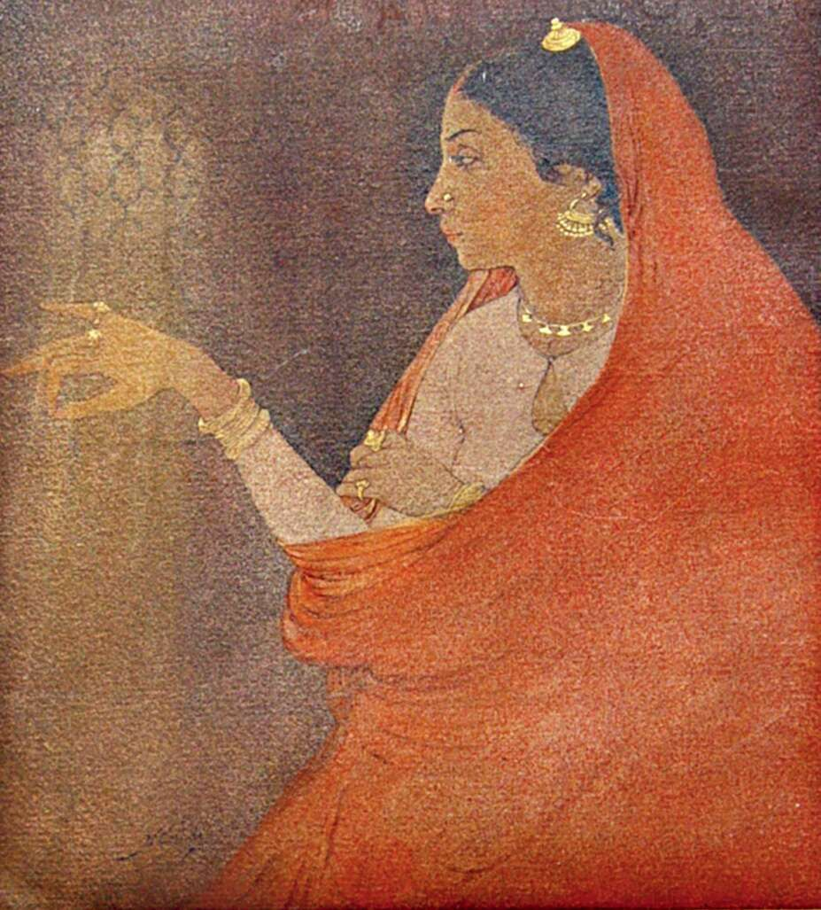 painting by artist abanindranath tagore