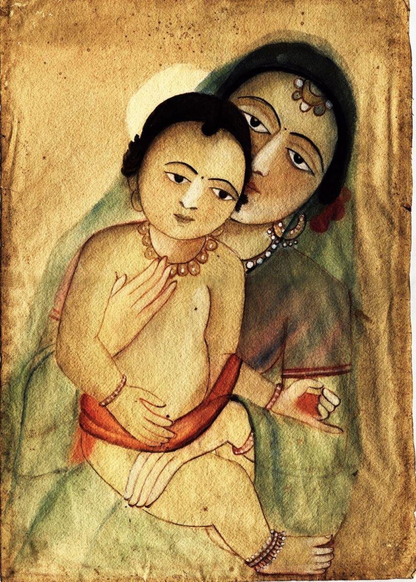painting by artist sunanya devi min