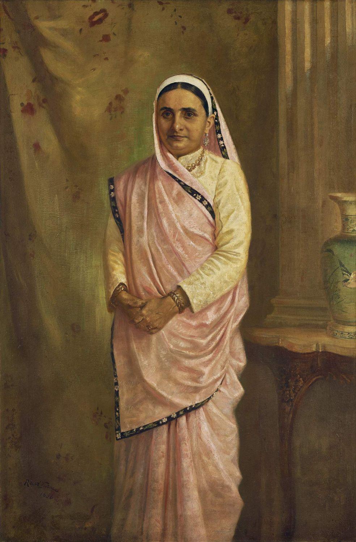 artist raja ravi varma painting