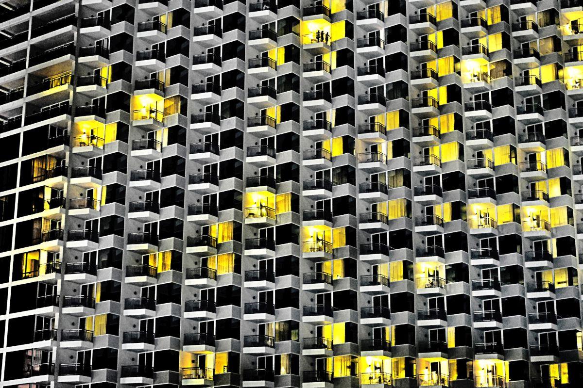 abstract photography modern city skyscraper by navalarp teratanatorn