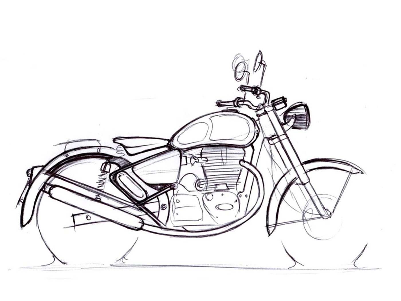 10 royal enfield design contest classic art by mark wells
