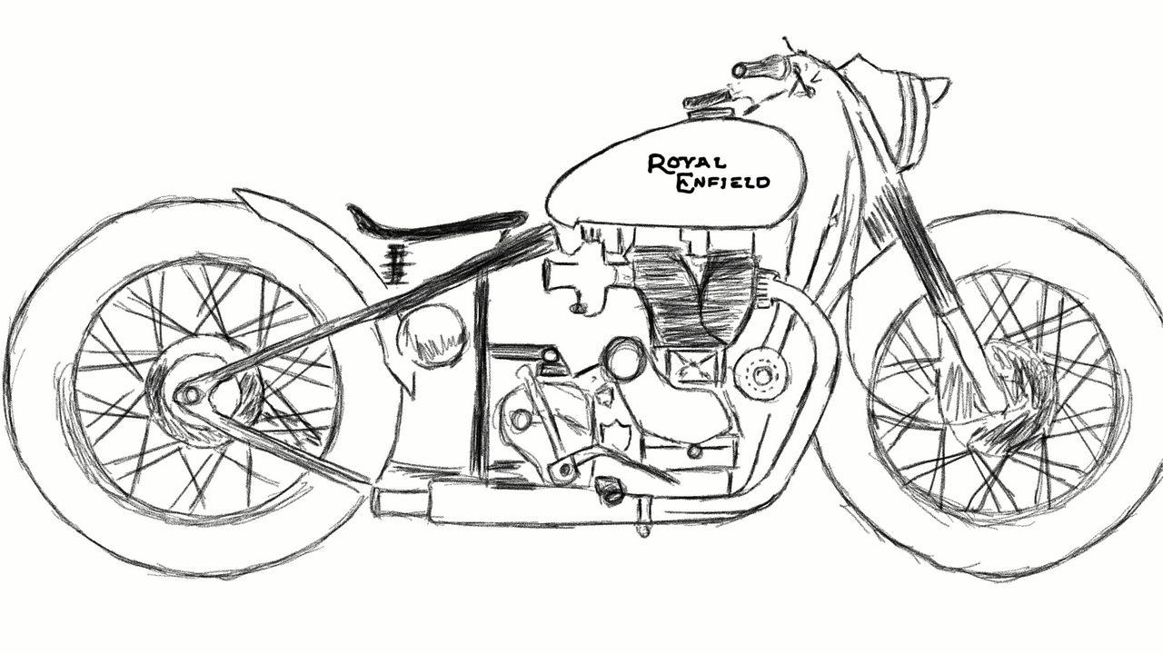 8 royal enfield design contest art by aravindshari