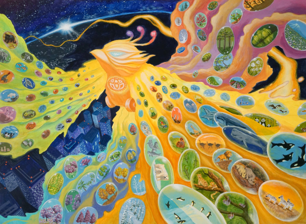 dream car art phoenix by katherine wang