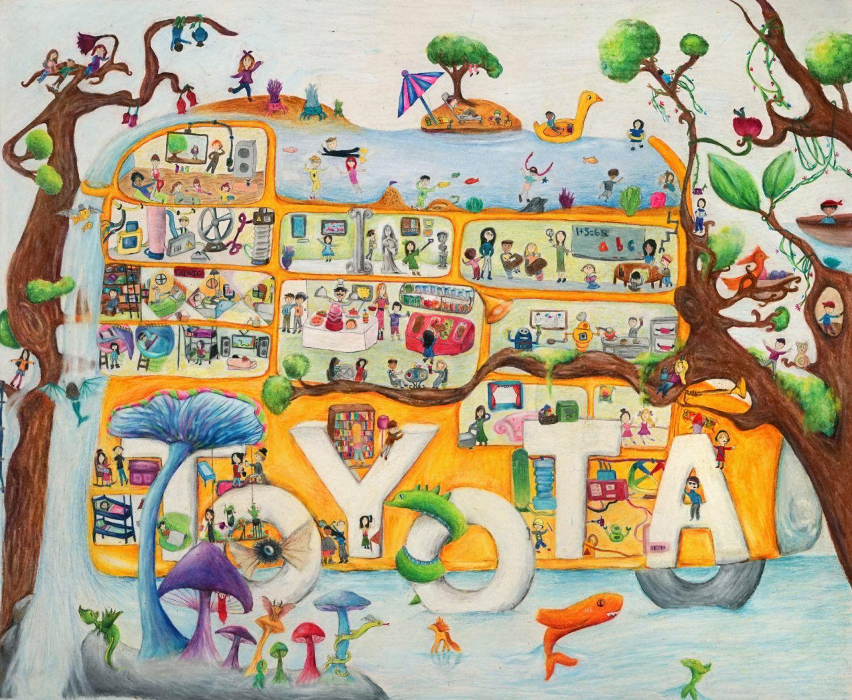 dream car art surrealism car art by ashley han
