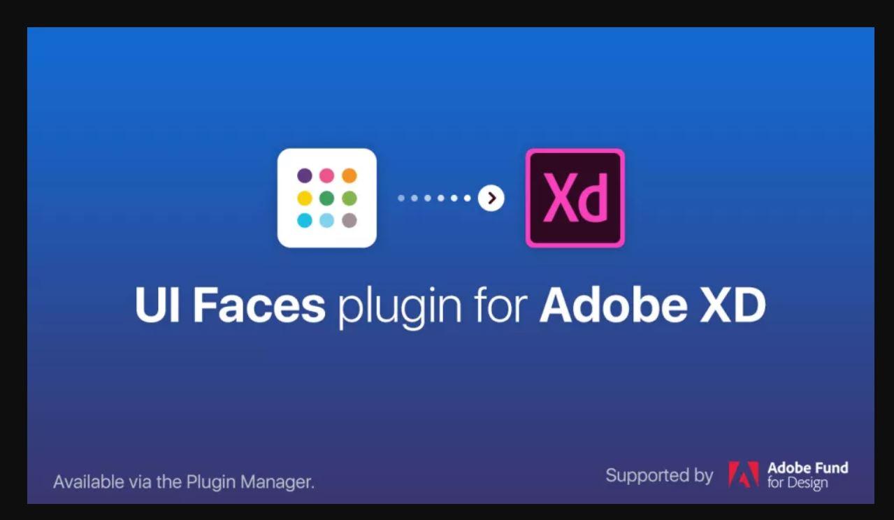 1 adobe xd plugin ui faces