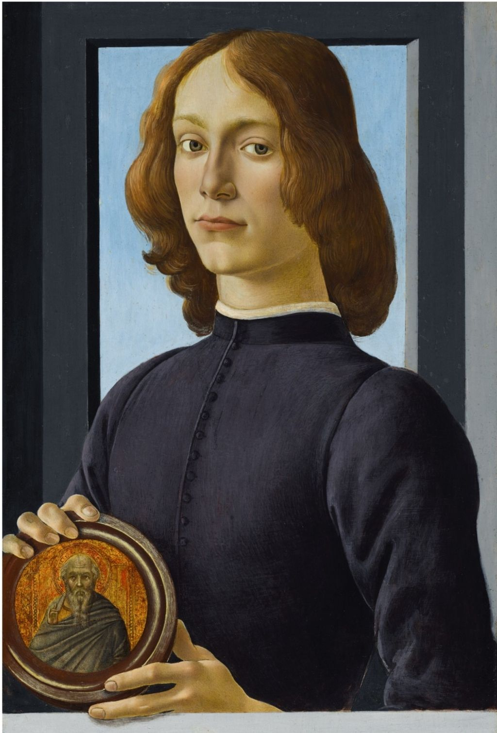 1 botticelli painting young man