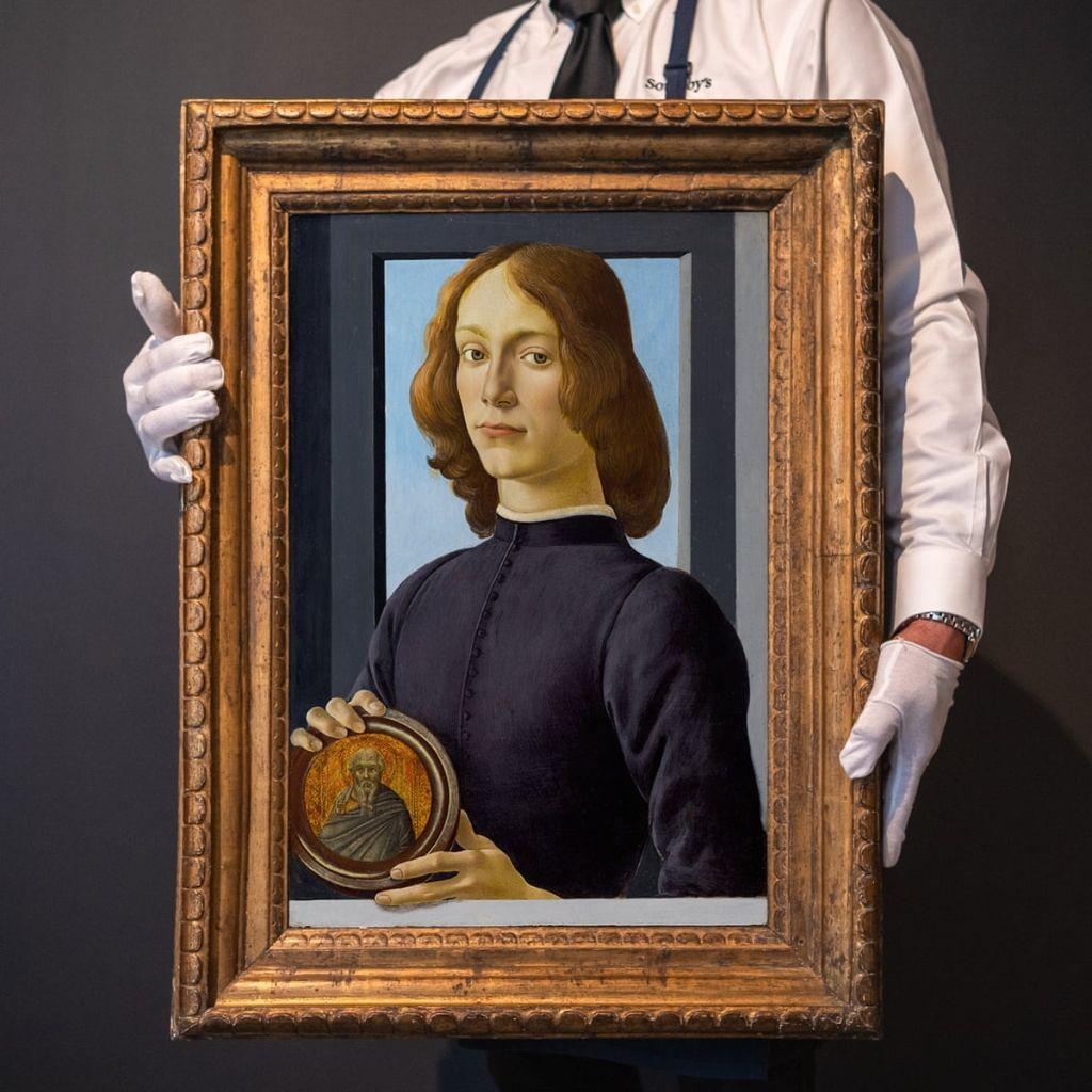 2 botticelli portrait painting