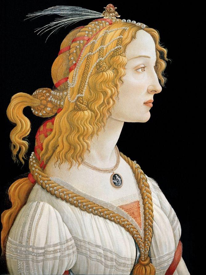 6 botticelli portrait painting