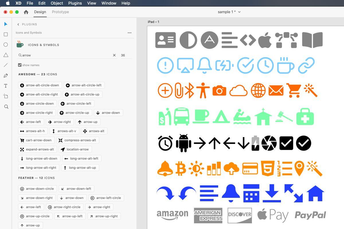 8 adobe xd plugin icon4design