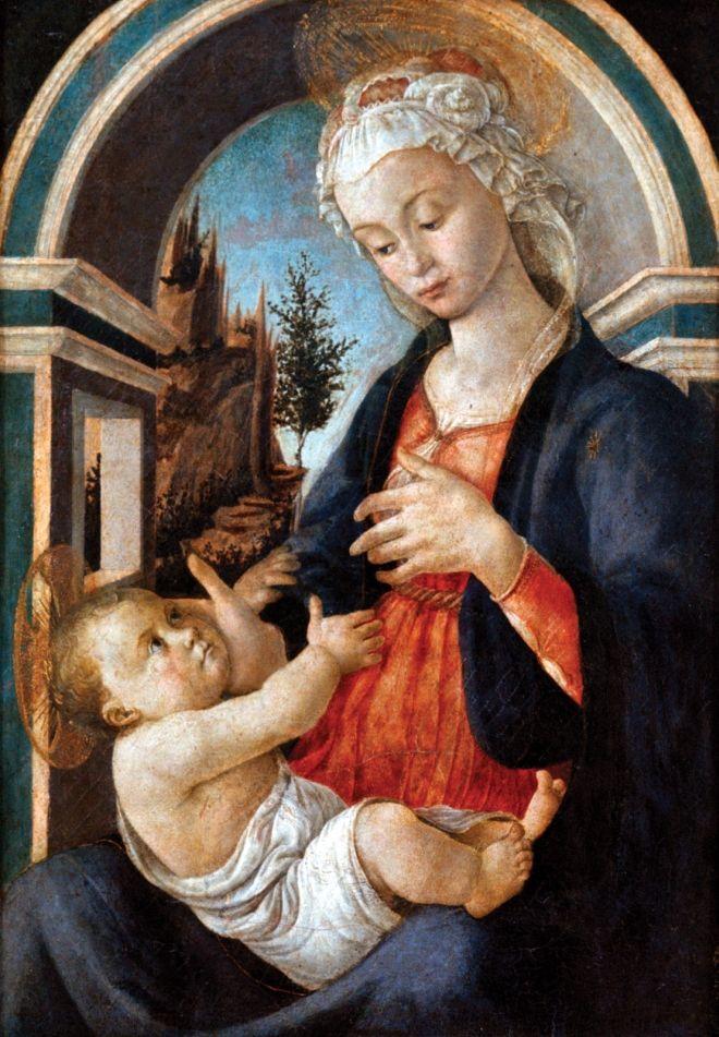 8 botticelli painting