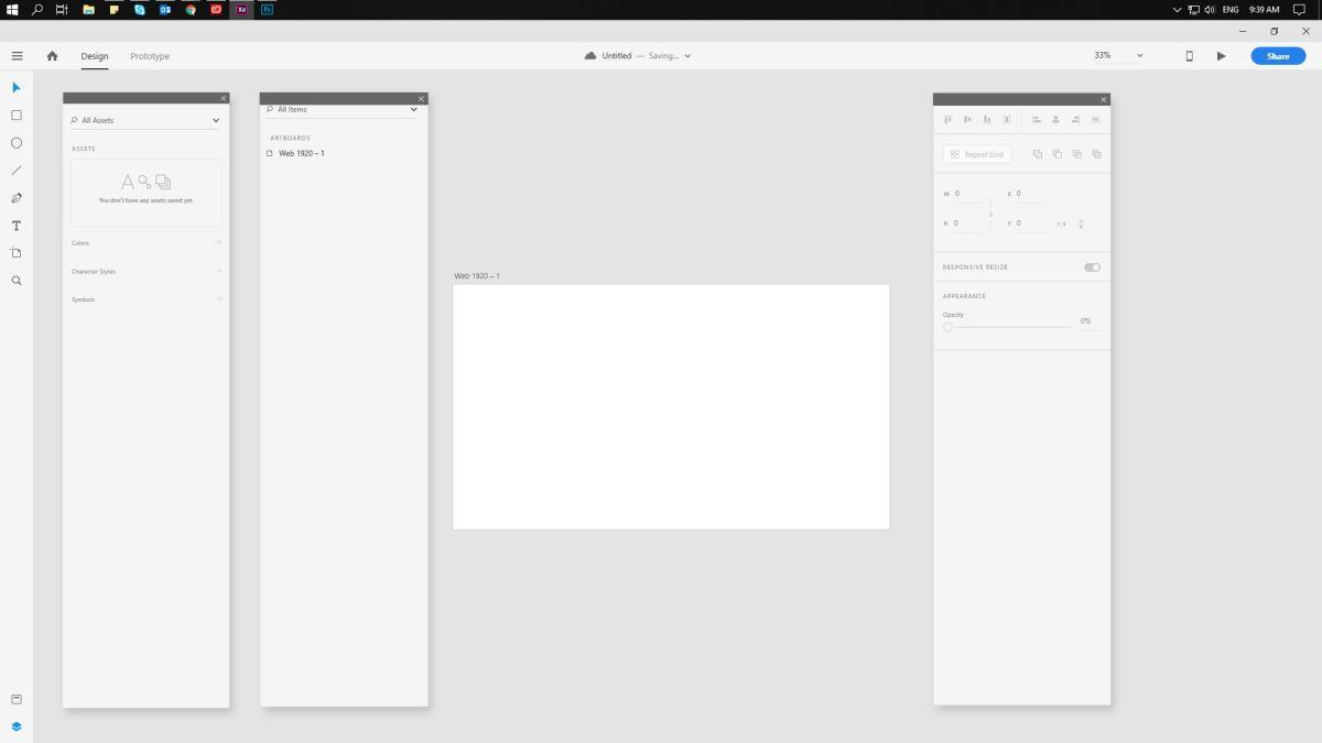 1 best web design tool adobe xd