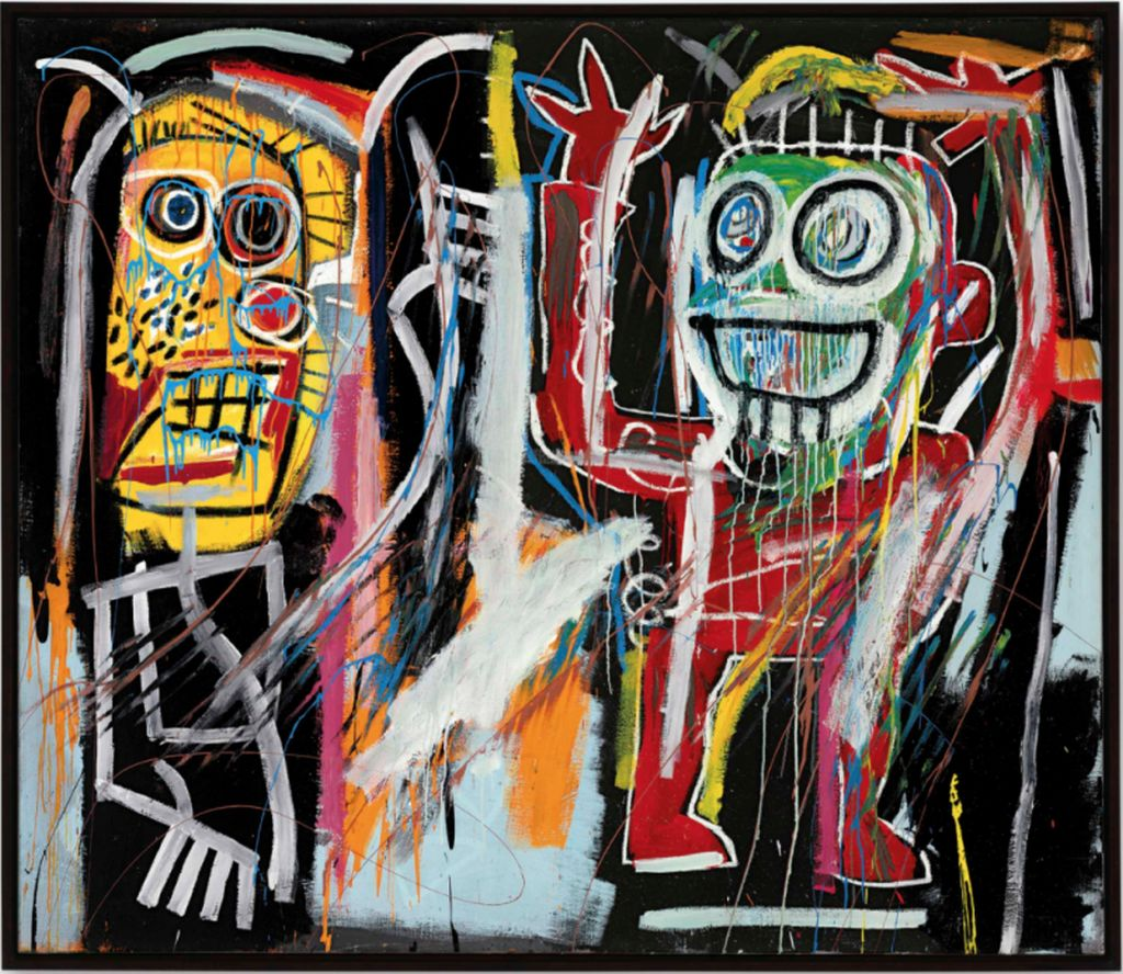 3 expensive painting by jean michel basquait