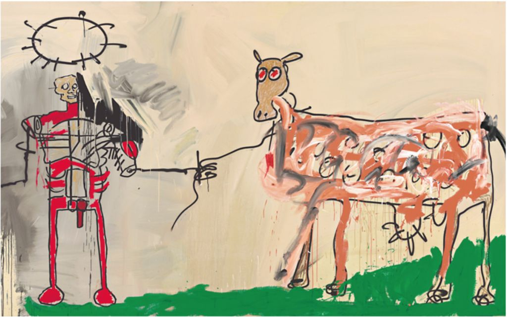 5 painting by jean michel basquait