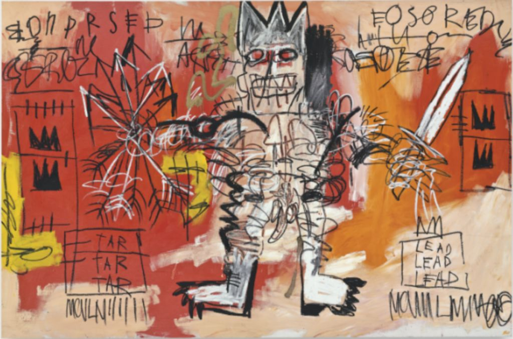 7 most expensive painting by jean michel basquait